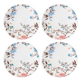 Sprig & Vine 4-Piece Dinner Plate Set