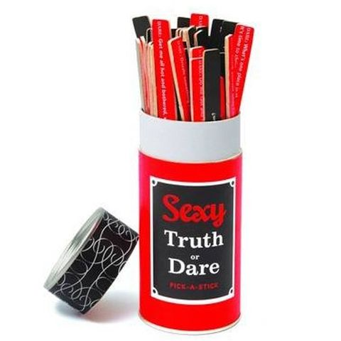 Sexy Truth Or Dare Pick-A-Stick Game/ sex games/