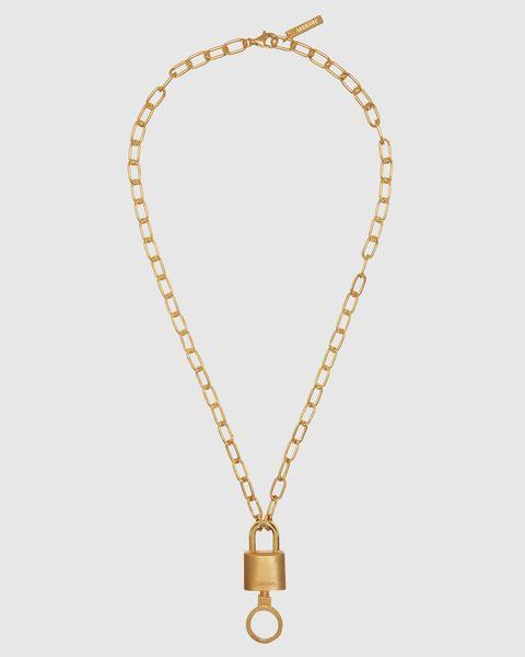 Stance Padlock Necklace