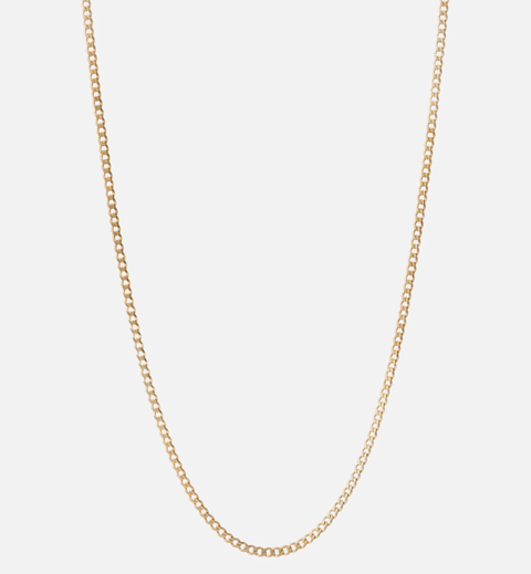 3mm Chain Necklace, 14k Gold