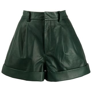 City Leather Shorts