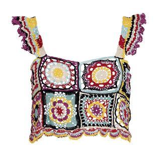 Tile Crochet Top
