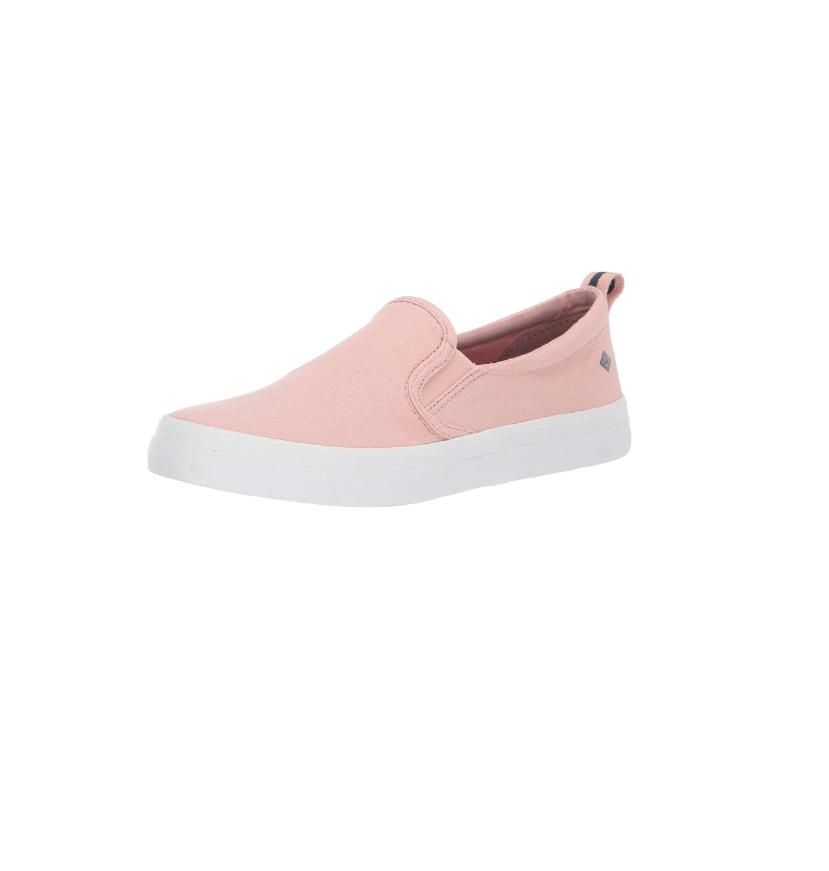 light pink slip on shoes
