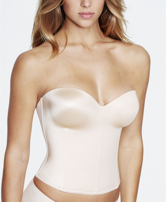 Image result for best longline style strapless bra