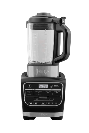 Waring All in One Non Stick Soup MakerBlender BlackSilver