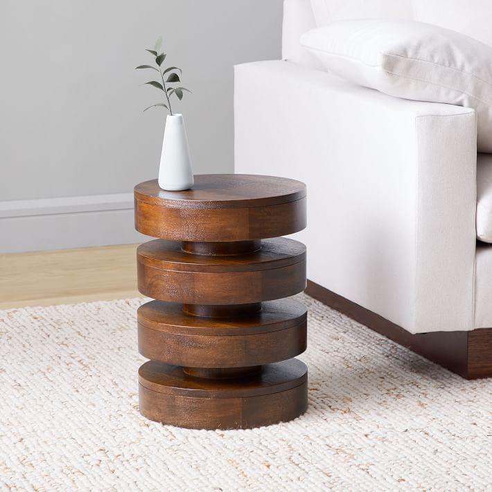 15 Diy Side Tables Best End, Wooden End Tables For Living Room