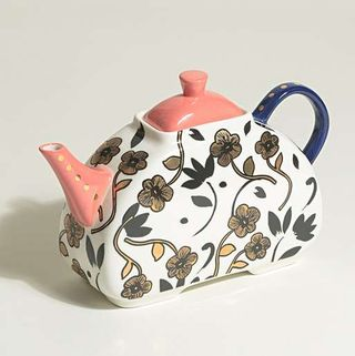 Printed China teapot