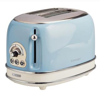 Vintage 2-Slice Toaster - Blue