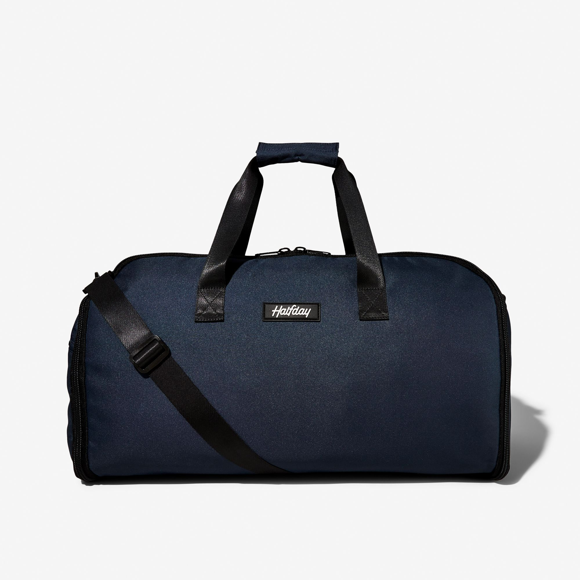 SUITSUPPLY Garment Bag Navy Blue Tri-Fold with Interior Pockets