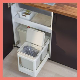 HÅLLBAR pull-out recycling tray