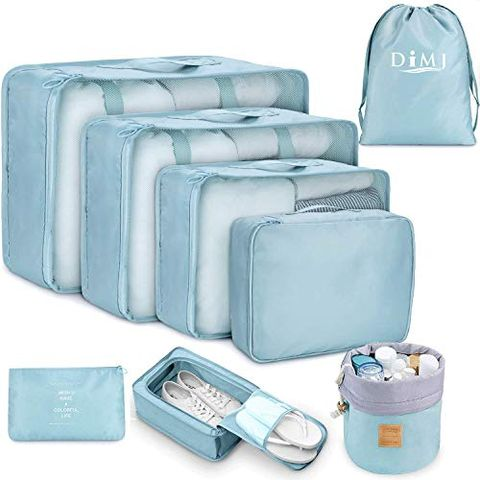 8-Piece Packing Cube Set