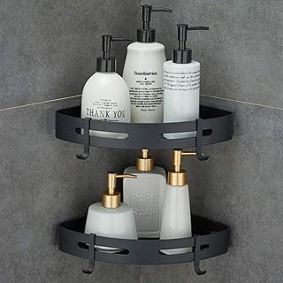 Shower Corner Shelf, Self Adhesive