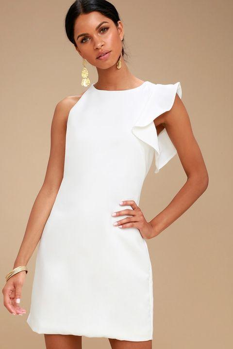 20 Awe-Inspiring White Summer Dresses 2020 - SheIdeas