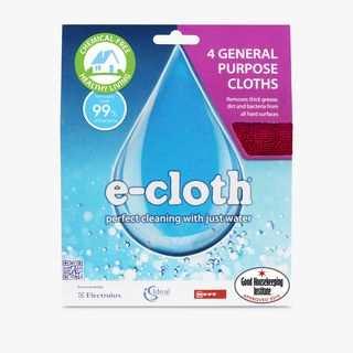 General purpose e-cloths, pack of 4