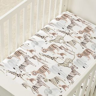 Safari Crib Sheet
