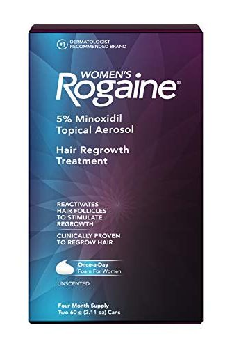 5% Minoxidil Foam for Hair Thinning and Loss