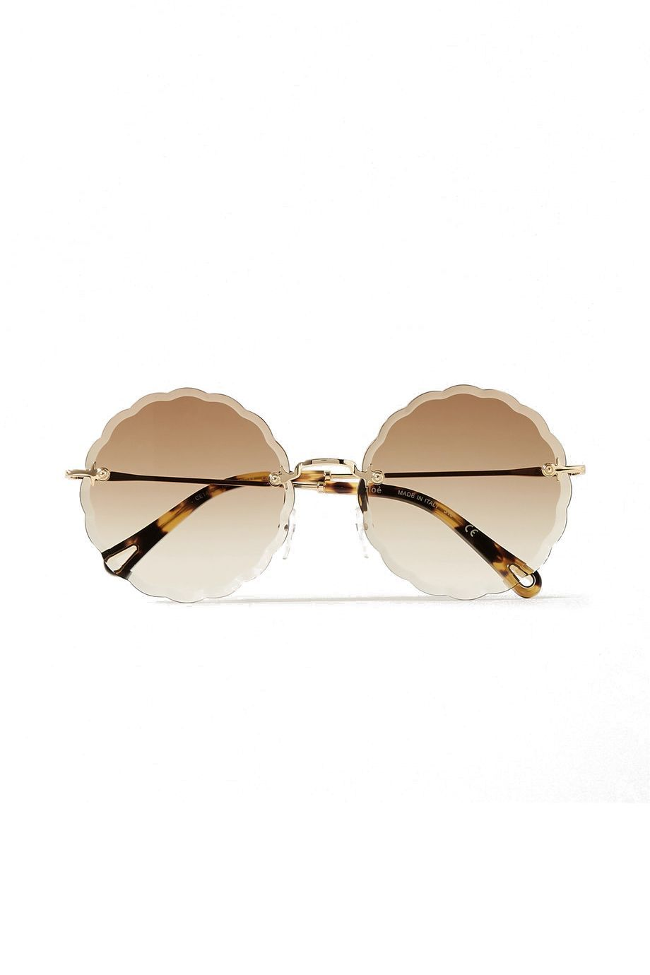 Girls Oversized Fashion Sunglasses with Silver Decorative Detail on the Side