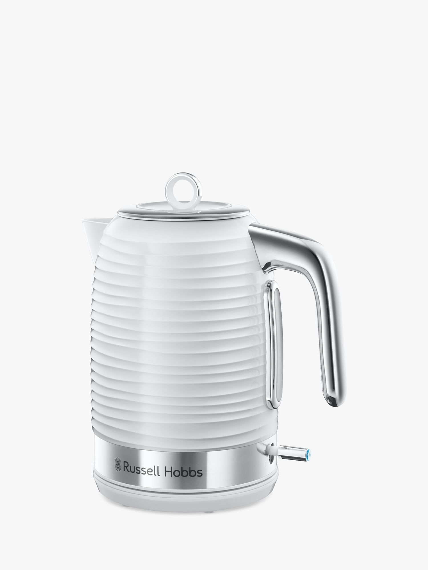 Hobbs Glass 1.7L Electric Kettle, Black