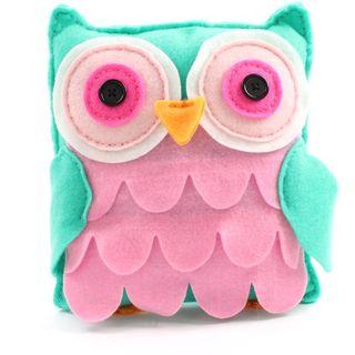 Make Your Own Felt Owl Pillow Kit
