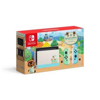 Nintendo Switch - Animal Crossing: New Horizon Special Edition