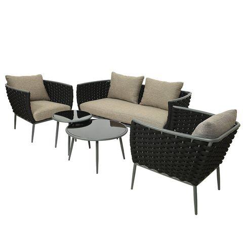 23 Best Garden Furniture To, Grey Rattan Garden Furniture Patio Sofa Chair Set Conservatory Alfresco