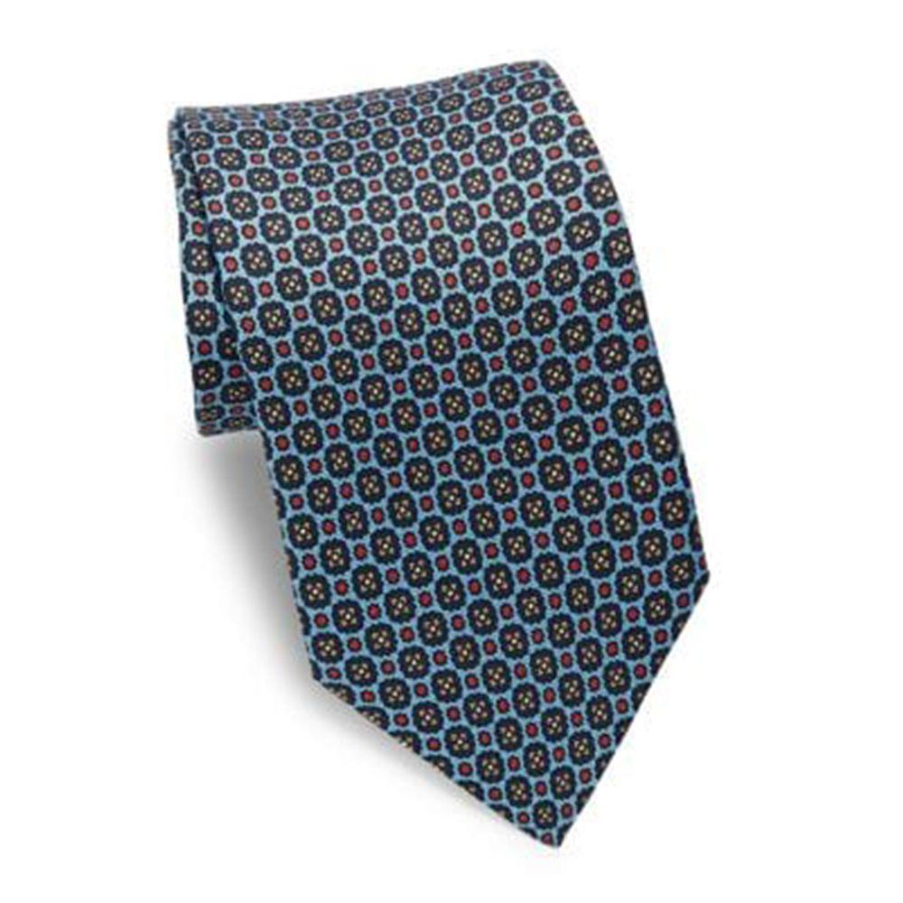 Hi-Tie Teal Checks Tie for Men