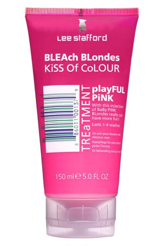 Lee Stafford Bleach Blondes Kiss Of Colour Playful Pink Treatment