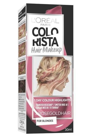 L'Oreal Colorista Hair Makeup Choc Rose Temporary Brunette Hair Colour