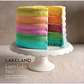 Layer Cake 5pc Pan Set – 18cm Dia
