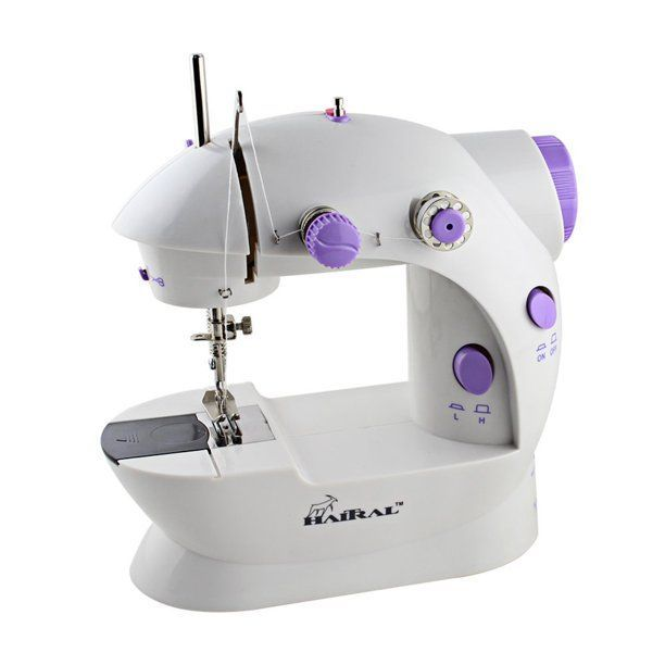 Household Mini Portable Repairing Machine Beginner Portable Sewing Machine favourity-home Sewing Machine with Extension Table lamp//Sewing kit//Travel