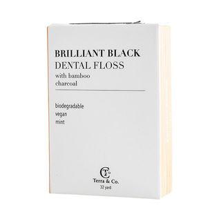 Brilliant Black Dental Floss