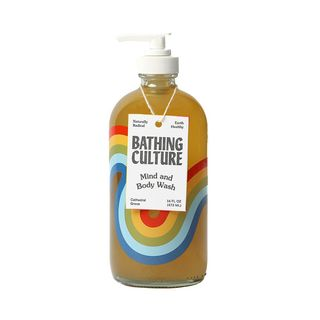 Mind and Body Wash Refillable Glass
