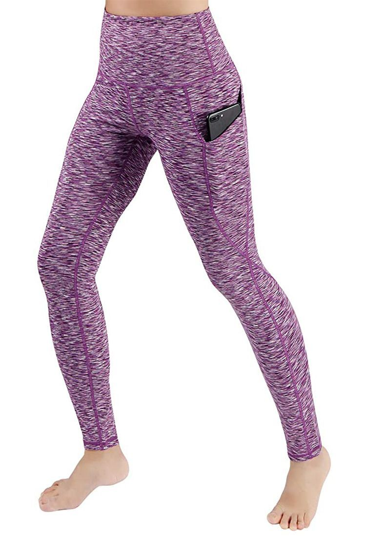 TSLA Yoga Leggings Pants Tights Mid-Waist//High-Waist Tummy Control w Inner-Pocket Series