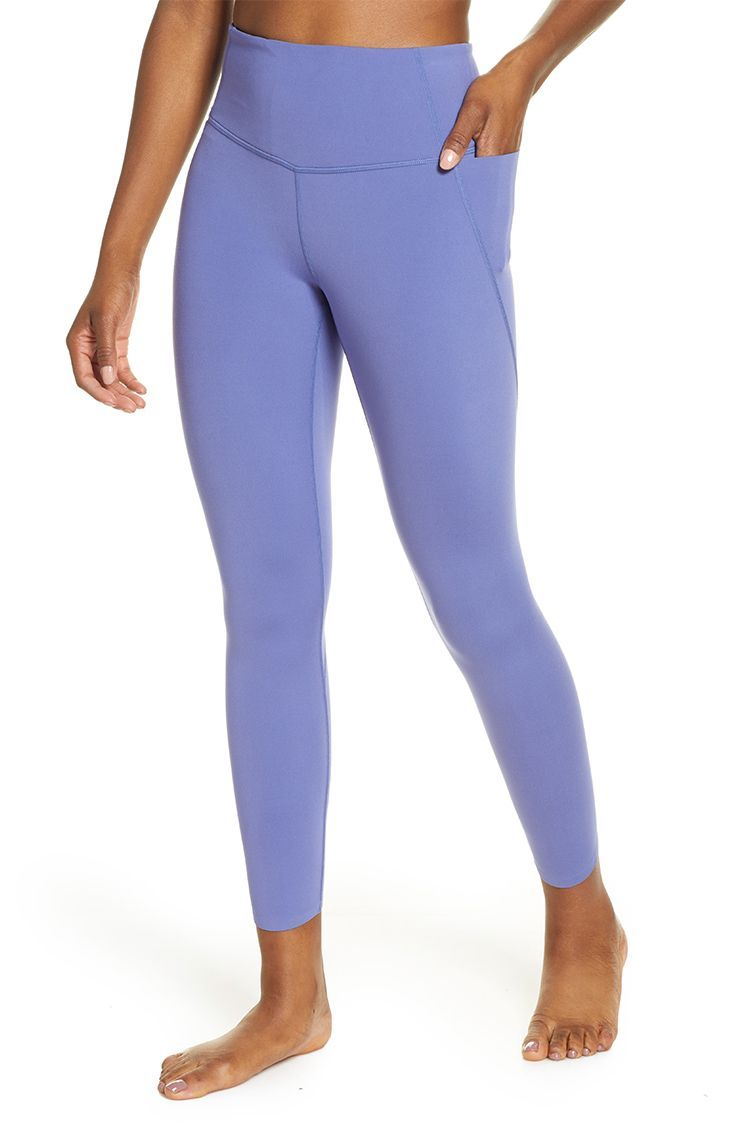 High Waisted Yoga Pants for Women with Phone Pockets Workout Gym Sports Leggings Tummy Control