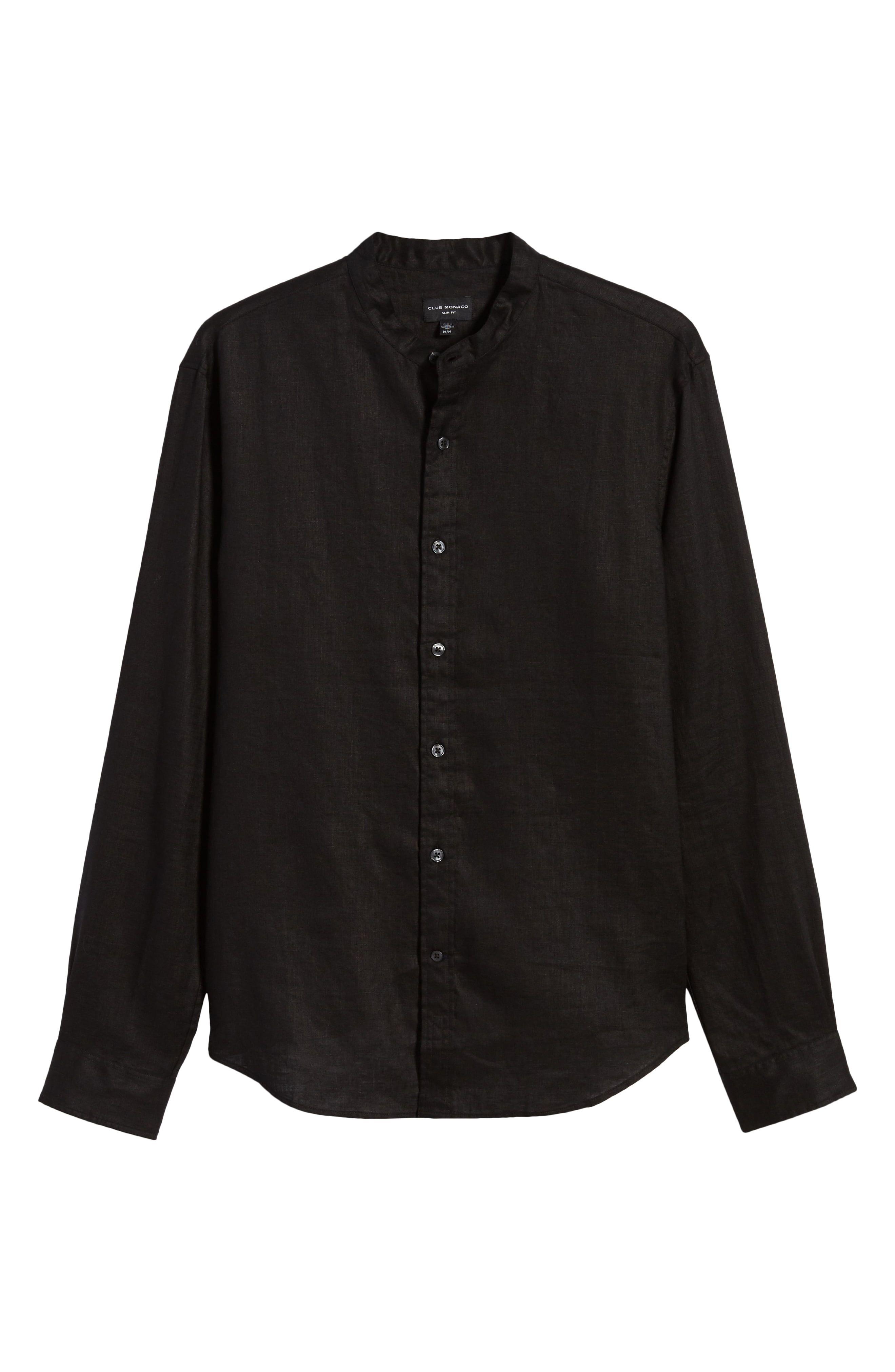 Mens Ralph Lauren Long Sleeved Linen Shirt Button Down Collar Slim Fit