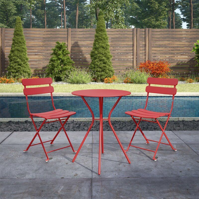 Red Patio Table And Chairs Off 62, Red Patio Table And Chairs