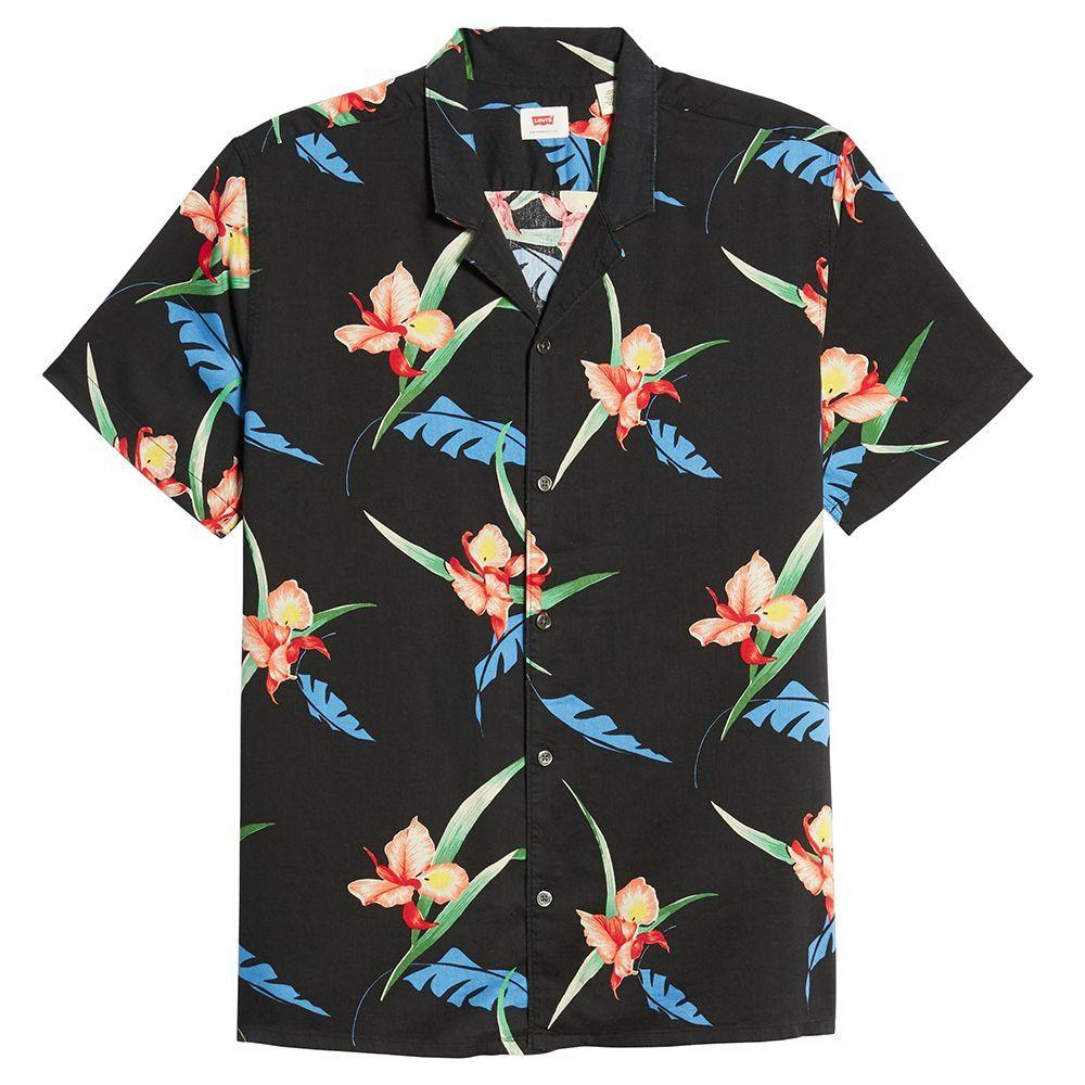 Levis Printed Camp Shirt