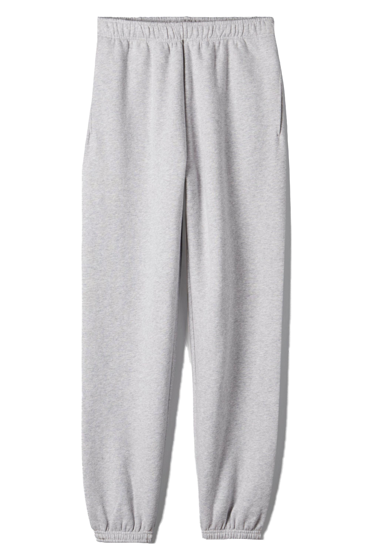 Womens Oversized Boyfriend Fit Elasticated Fleece Jogging Bottoms Casual Pants