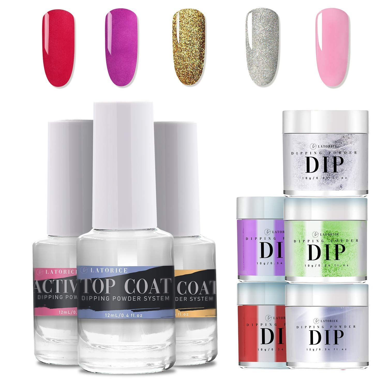 13 Best Dip Powder Nail Kits 2020 Easy Salon Manicure At Home