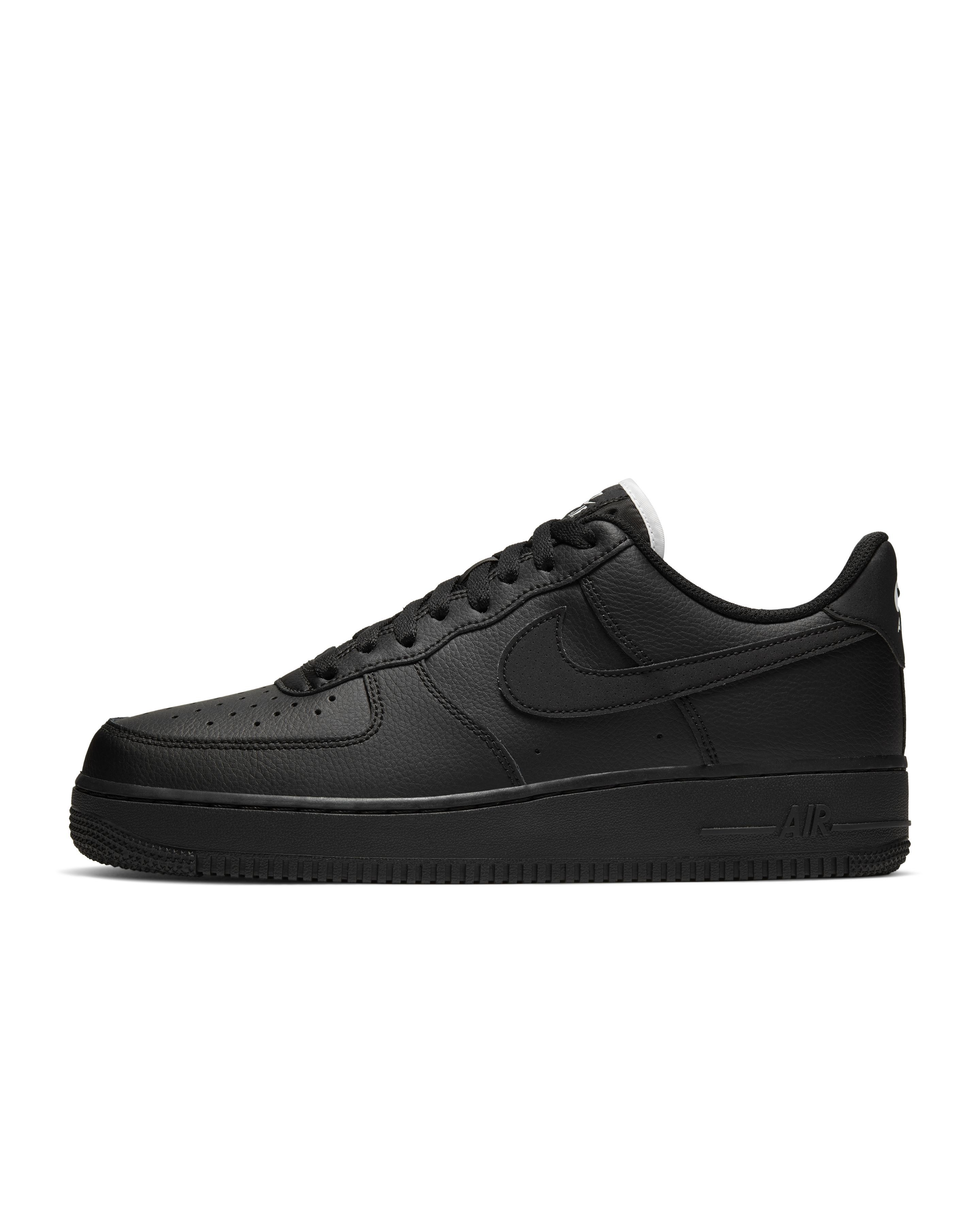 Stylish All-Black Shoes for Men