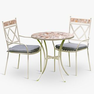 Morocco Garden Bistro Table & Chairs Set