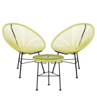 Pack of New Acapulco Chairs (x2) & Table (x1)