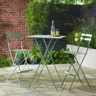 Eve 2 Seater Bar Bistro Set - Sage
