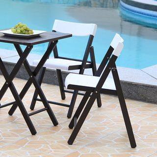 Outdoor Bistro Set - White