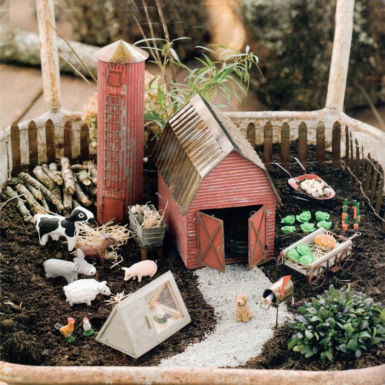 25 Diy Fairy Garden Ideas How To Make, How To Make Miniature Garden Furniture