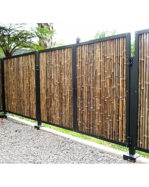 Four Eye Bamboo Fence Japanese Fence For Oriental Gardens Build A Japanese Garden Uk