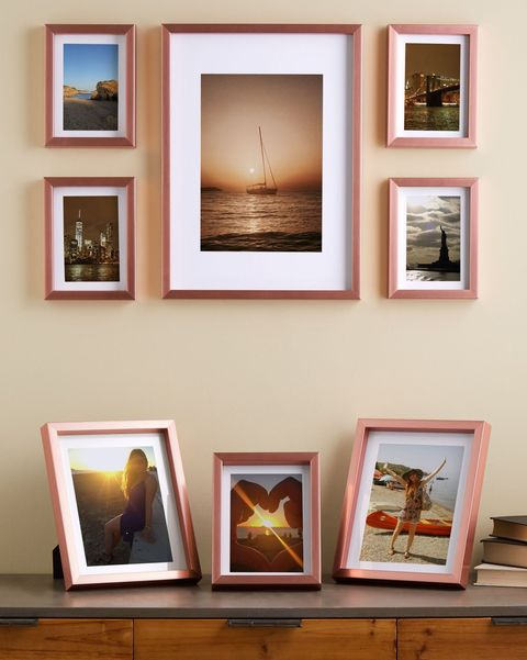 Photos In Frames – Photo montage frame sepia painting 4 pictures.