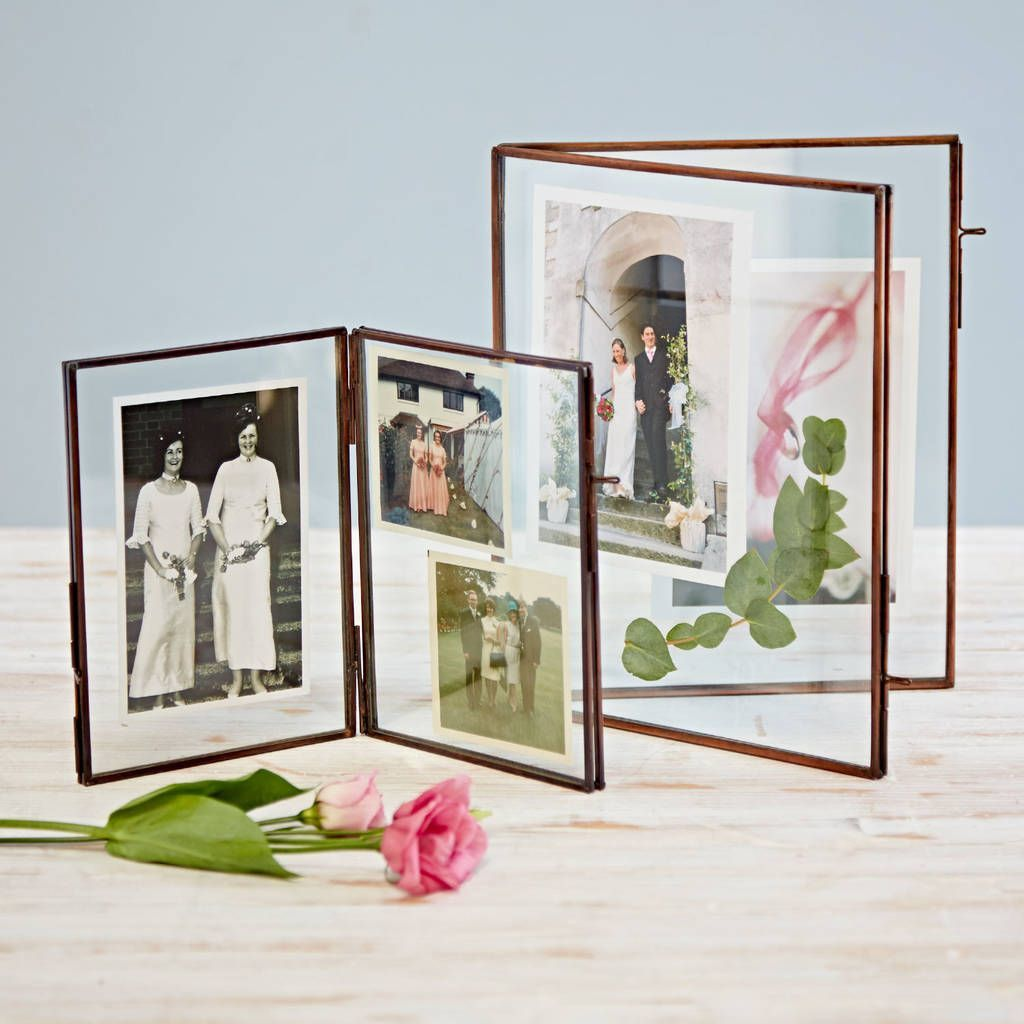 A4  A3  glass picture frame with window mount