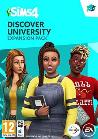 The Sims 4: Discover University (original code)