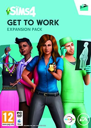 The Sims 4: Get to Work (Origin code)